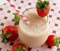 Strawberry Strides Smoothie